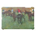 Edgar Degas - Horse racing before starting iPad Mini Cases
