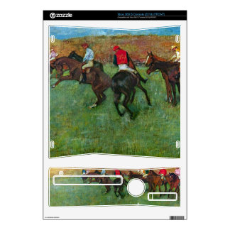 Edgar Degas - Horse racing before starting Skins For The Xbox 360 S