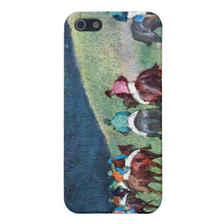 Edgar Degas - Horse racing -The training Cover For iPhone SE/5/5s
