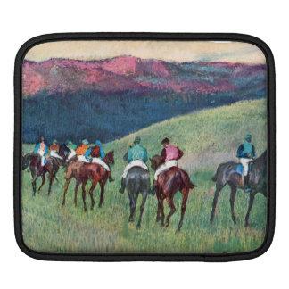 Edgar Degas - Horse racing -The training Sleeve For iPads