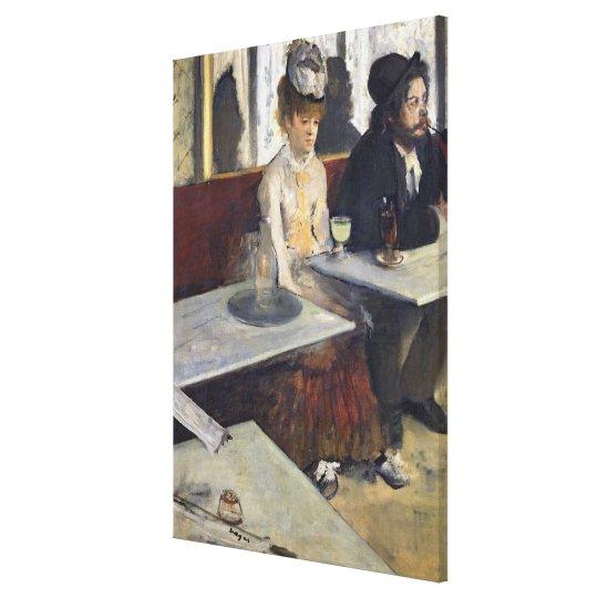 Edgar Degas | In a Cafe, or The Absinthe Canvas Print
