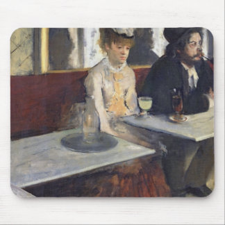 Edgar Degas | In a Cafe, or The Absinthe Mouse Pad
