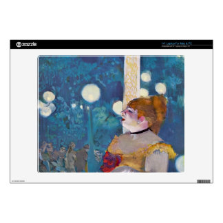 """Edgar Degas - In concert Cafe - The Songs of the d 14"""" Laptop Skins"""