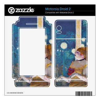 Edgar Degas - In concert Cafe - The Songs of the d Motorola Droid 2 Skins