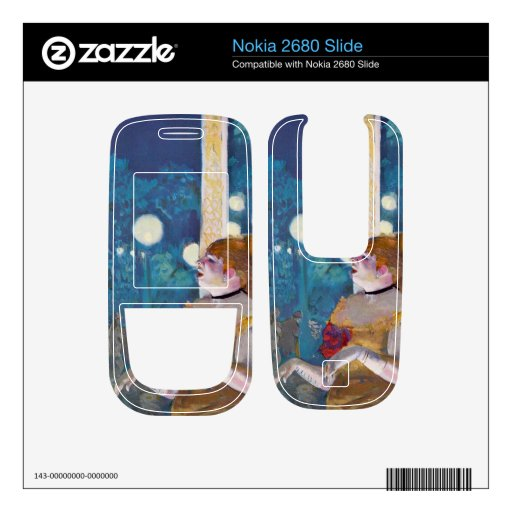 Edgar Degas - In concert Cafe - The Songs of the d Nokia 2680 Slide Decals