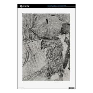Edgar Degas - In the Rain Skin For PS3