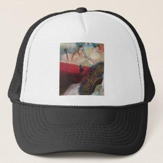 Edgar Degas - In the Theatre Theater Fan Dancers Trucker Hat