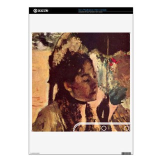 Edgar Degas - In the Tuileries - Woman with Paraso Skin For The PS3 Slim