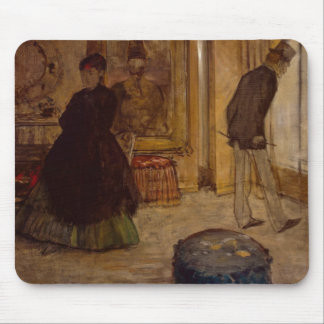 Edgar Degas | Interior with Two Figures, 1869 Mouse Pad