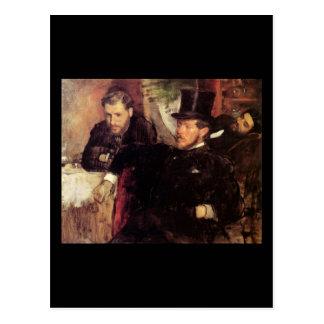 Edgar Degas Jeantaud Linet y Laine Postal