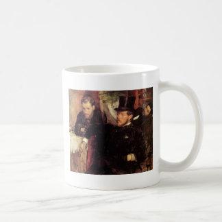 Edgar Degas Jeantaud Linet y Laine Tazas