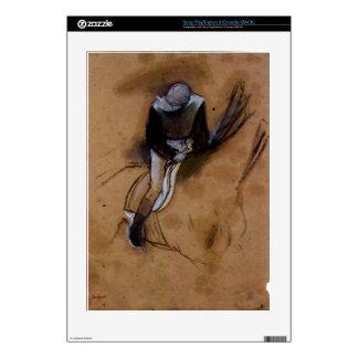 Edgar Degas - Jockey forward flexed standing in th Decals For PS3
