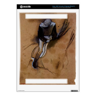 Edgar Degas - Jockey forward flexed standing in th Xbox 360 Console Skins