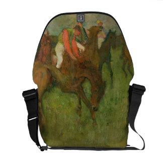 Edgar Degas   Jockeys, 1886-90 Courier Bag