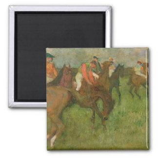 Edgar Degas   Jockeys, 1886-90 Magnet
