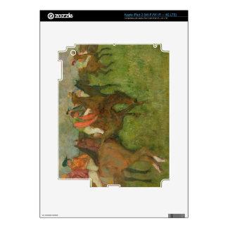 Edgar Degas   Jockeys, 1886-90 Skins For iPad 3