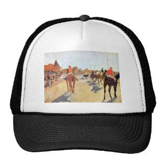 Edgar Degas - Jockeys in front of the grandstand Hats