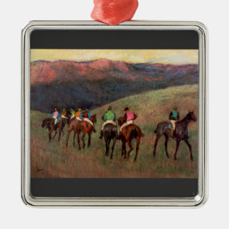 Edgar Degas - Jockeys in Training Ornaments