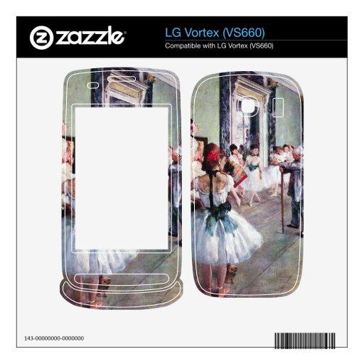 Edgar Degas - la clase de danza Skin Para El LG Vortex