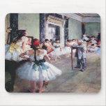 Edgar Degas - la clase de danza Alfombrillas De Raton