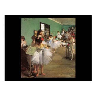 Edgar Degas la clase de danza Tarjetas Postales