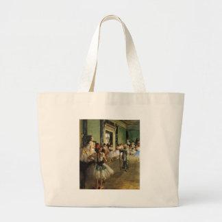 Edgar Degas La Classe de Danse Jumbo Tote Bag