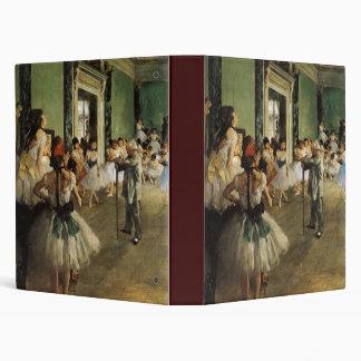 Edgar Degas La Classe de Danse Vinyl Binder