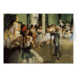 Edgar Degas La Classe de Danse Felicitaciones