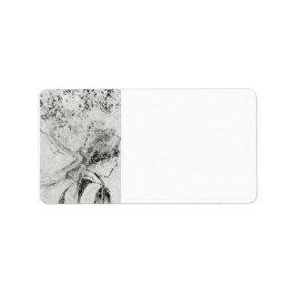 Edgar Degas - la enfermera Etiqueta De Dirección