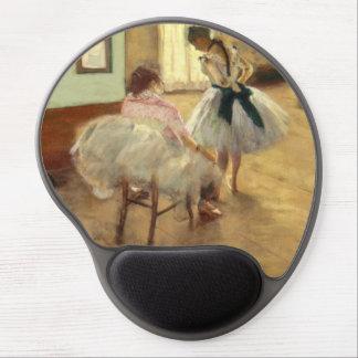 Edgar Degas la lección de danza Alfombrilla Gel