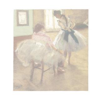 Edgar Degas la lección de danza Bloc