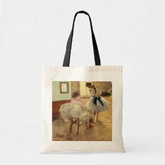 Edgar Degas la lección de danza Bolsa Tela Barata