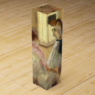 Edgar Degas la lección de danza Caja Para Botella De Vino
