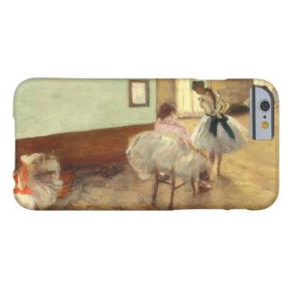 Edgar Degas la lección de danza Funda Barely There iPhone 6