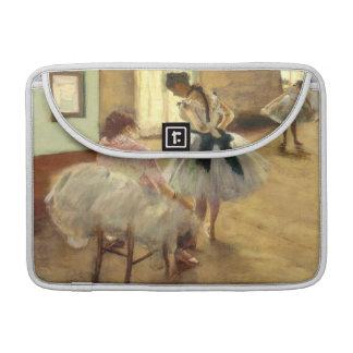 Edgar Degas la lección de danza Funda Para Macbook Pro