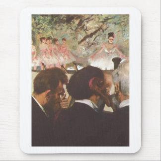 Edgar Degas - la lona del aceite de los bailarines Alfombrillas De Ratones