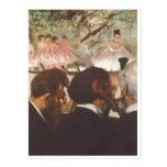 Edgar Degas - la lona del aceite de los bailarines Postales