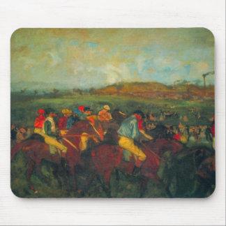 Edgar Degas - la raza de los caballeros Alfombrillas De Raton