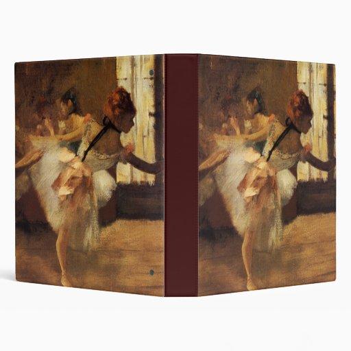 Edgar Degas La Répétition De Danse 3 Ring Binders