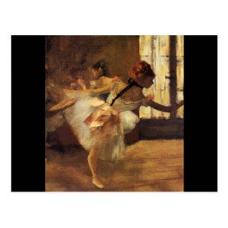 Edgar Degas La Répétition De Danse Postcard