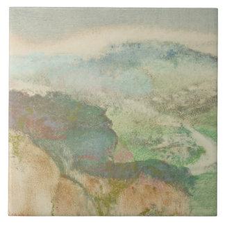 Edgar Degas - Landscape Tile
