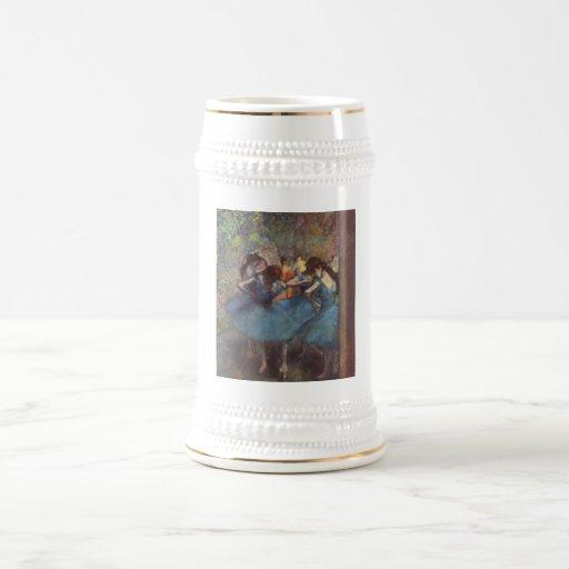 Edgar Degas - lona 1890 del aceite de los chicas Jarra De Cerveza