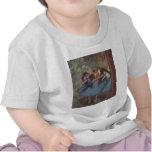 Edgar Degas - lona 1890 del aceite de los chicas Camisetas
