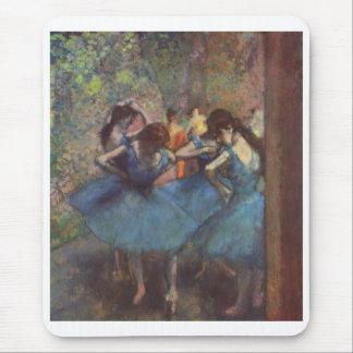 Edgar Degas - lona 1890 del aceite de los chicas Tapete De Ratones