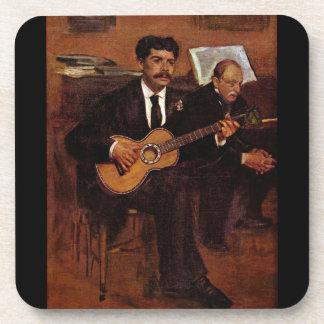 Edgar Degas - los Pagans y el Monsieur De del guit Posavasos De Bebida