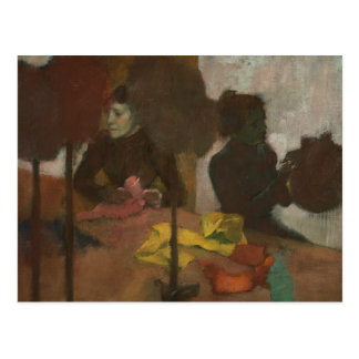 Edgar Degas - los sombrereros Postal