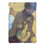 Edgar Degas - Maria Cass con su perro
