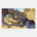 Edgar Degas - Mary Cassatt con su perro Rectangular Altavoces