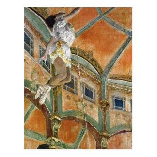 Edgar Degas | Miss La la at the Cirque Fernando Postcard