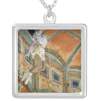 Edgar Degas | Miss La la at the Cirque Fernando Silver Plated Necklace